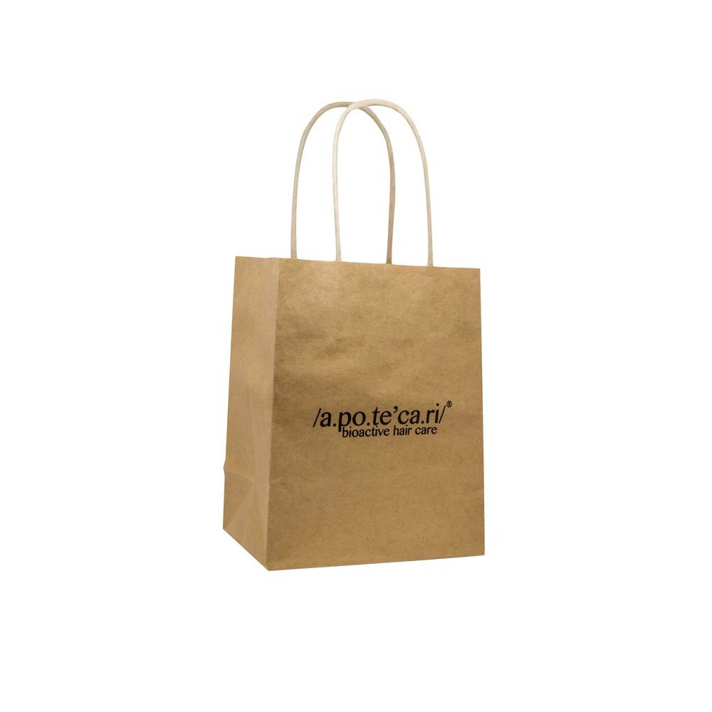 apotecari retail bag gusset view