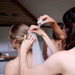 Wedding Hair Preparation