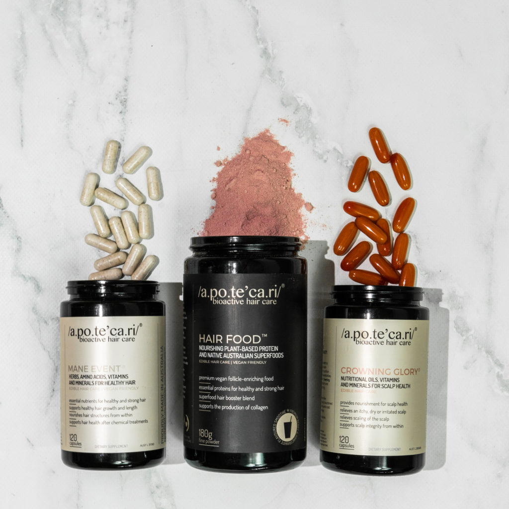 A perfectly curated hair health regimen is easy with the /A. team